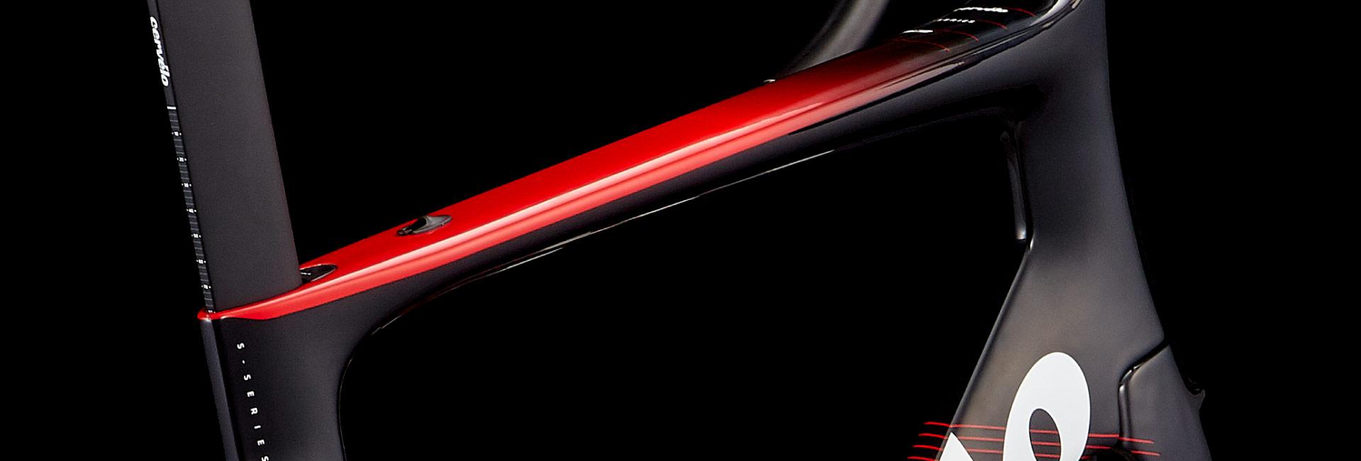 CERVELO-19-S3-RIM車架組-48CM-黑紅-4